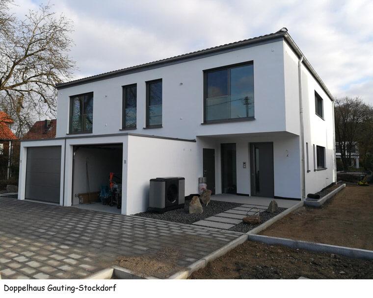 Doppelhaus in Gauting-Stockdorf - Dipl.-Ing. Helmut Kaiser