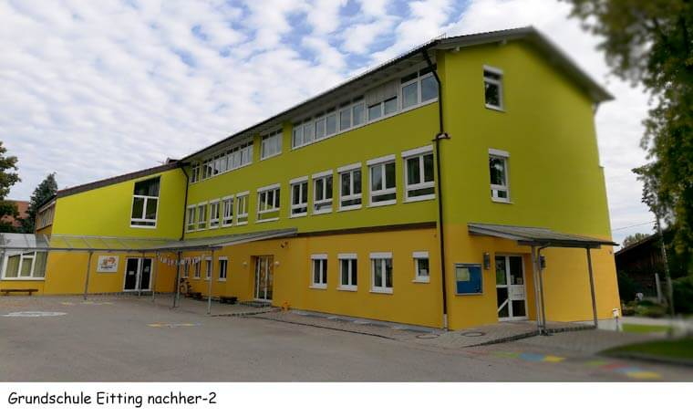 Grundschule in Eitting nachher - Dipl.-Ing. Helmut Kaiser