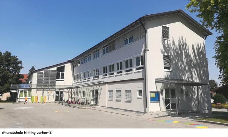 Grundschule in Eitting vorher - Dipl.-Ing. Helmut Kaiser