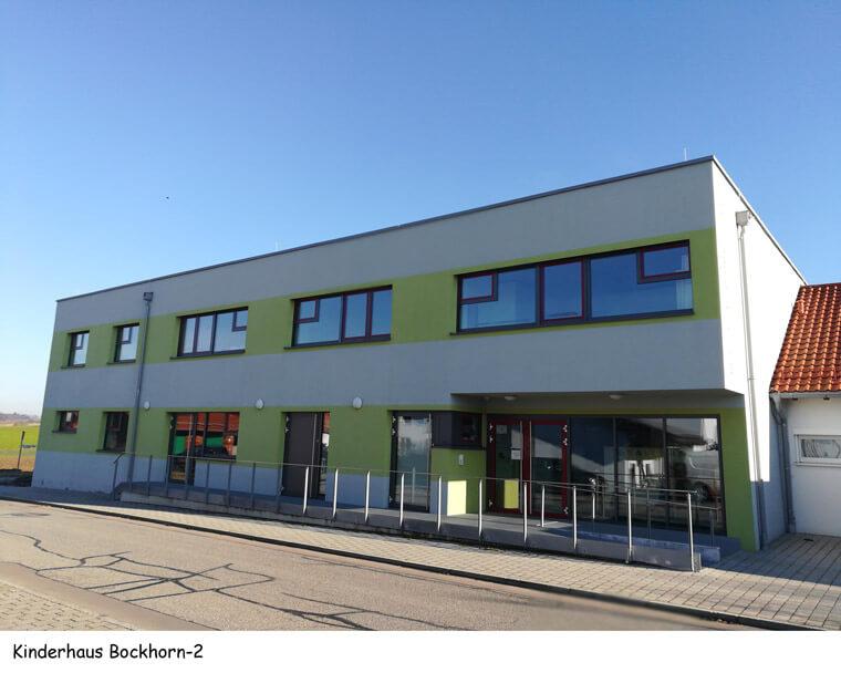Kinderhaus in Bockhorn, Eingangsbereich Vorderansicht - Dipl.-Ing. Helmut Kaiser