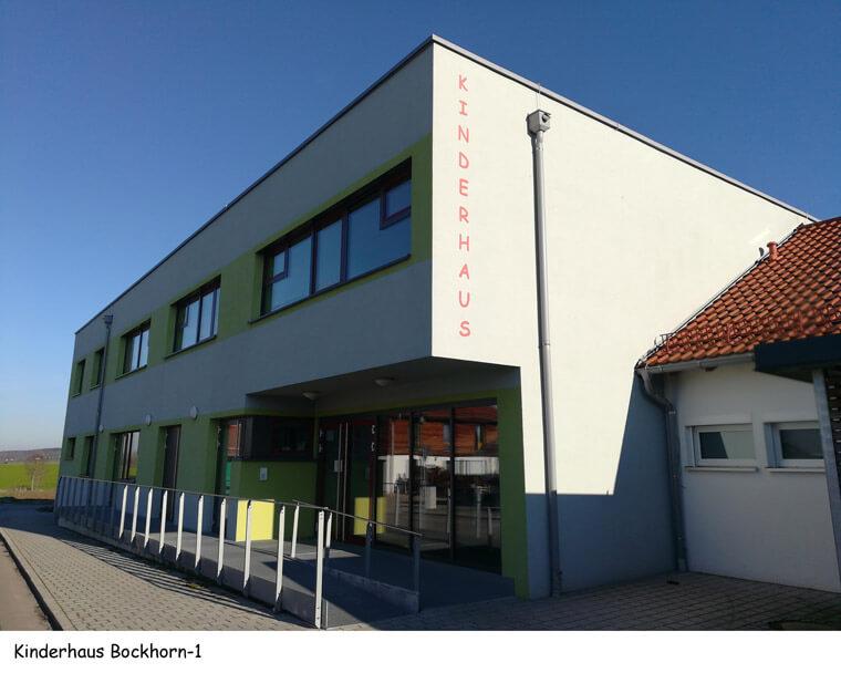 Kinderhaus in Bockhorn, Eingangsbereich - Dipl.-Ing. Helmut Kaiser