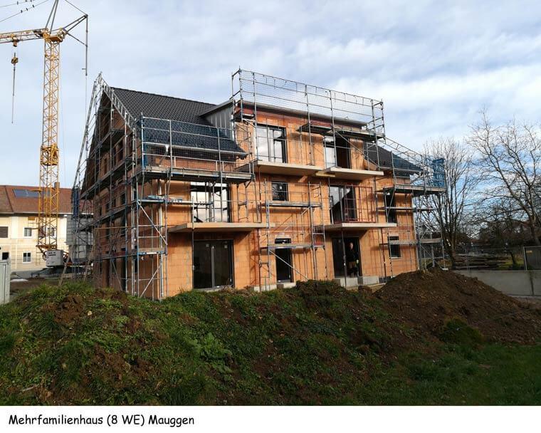 Mehrfamilienhaus (8 Wohneinheiten) in Mauggen - Dipl.-Ing. Helmut Kaiser