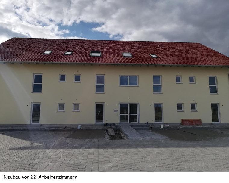 Neubau von 22 Arbeiterzimmern - Dipl.-Ing. Helmut Kaiser