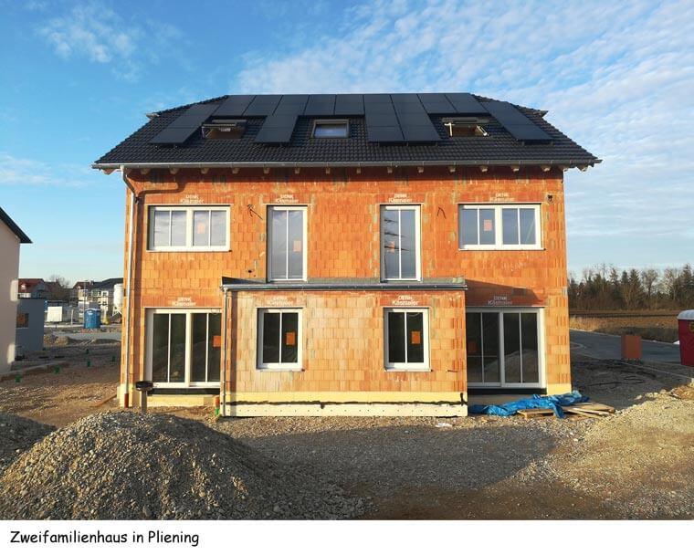 Zweifamilienhaus in Pliening - Dipl.-Ing. Helmut Kaiser